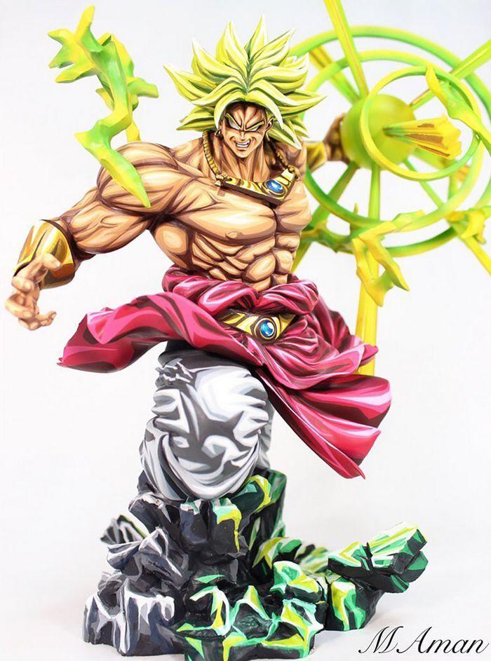 Artista transforma estatuetas em esculturas ultra realistas de personagens de anime (38 fotos) 34