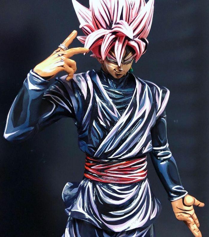 Artista transforma estatuetas em esculturas ultra realistas de personagens de anime (38 fotos) 37