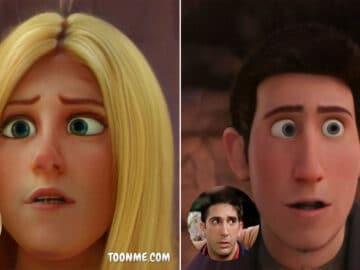 E se os atores de Friends fossem personagens de filme da Disney 3