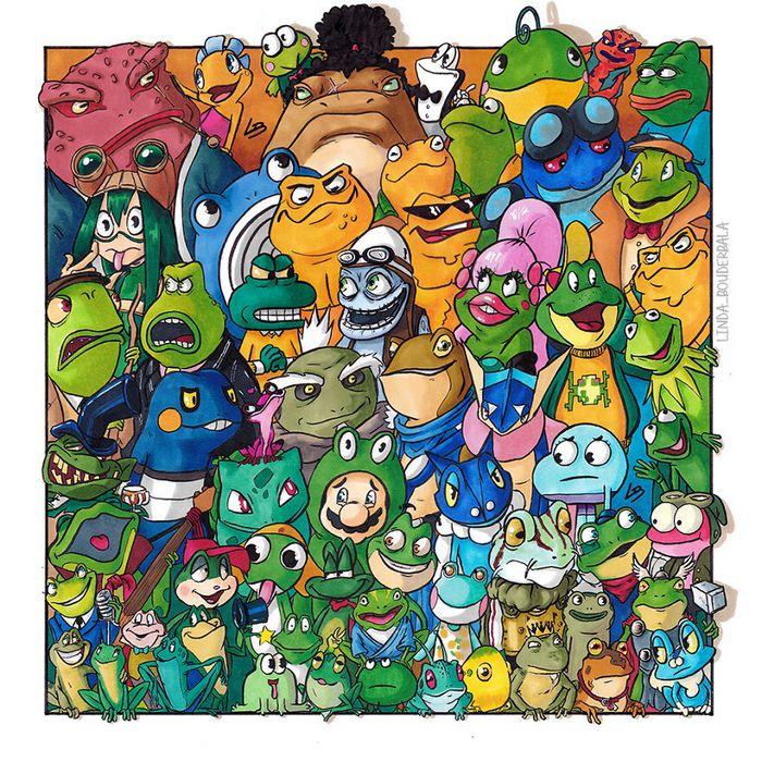 Classifiquei personagens famosos por espécie e aqui estão 11 equipes 5