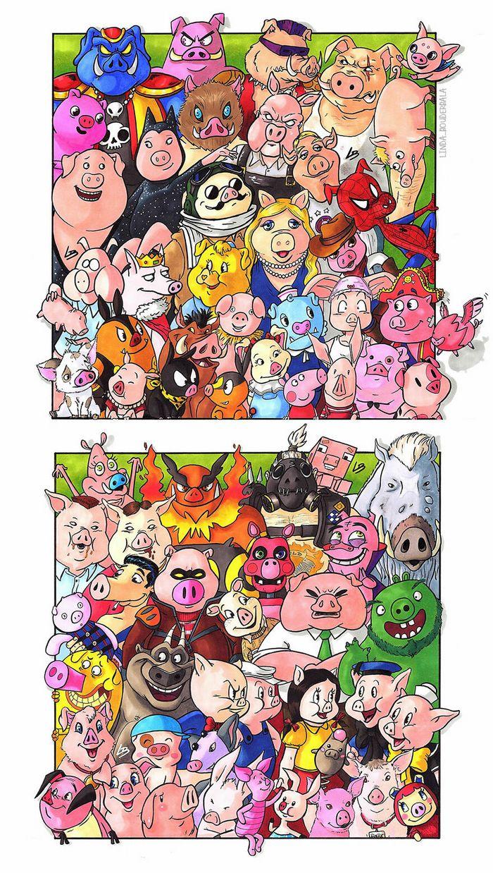 Classifiquei personagens famosos por espécie e aqui estão 11 equipes 9