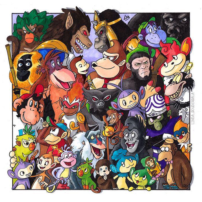 Classifiquei personagens famosos por espécie e aqui estão 11 equipes 12