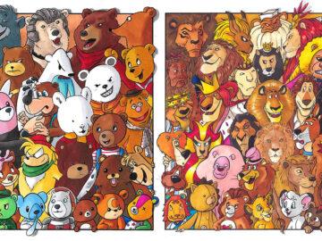 Classifiquei personagens famosos por espécie e aqui estão 11 equipes 3