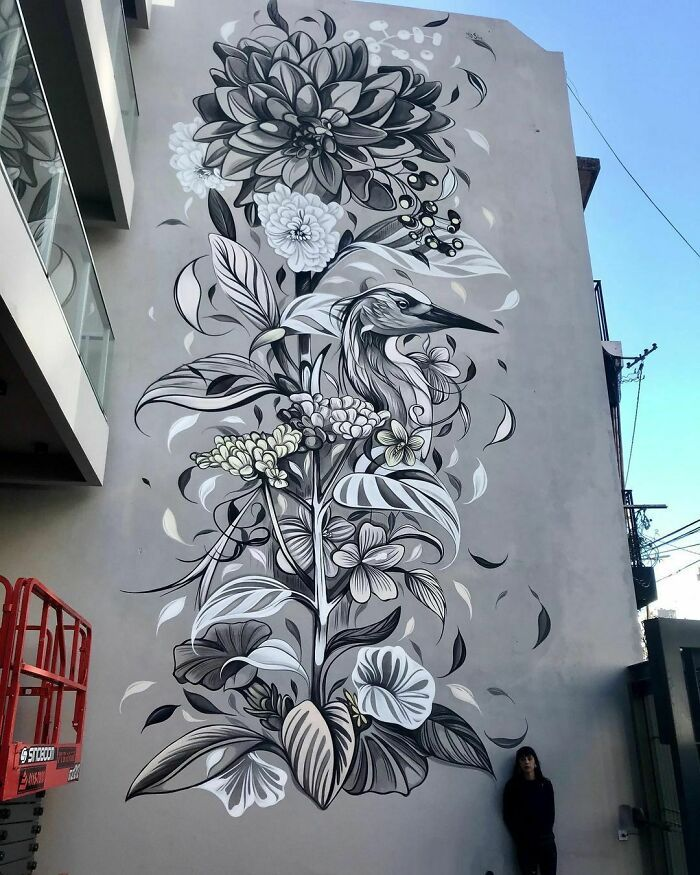 32 edifícios decorados com hipnotizantes murais de vida selvagem 28