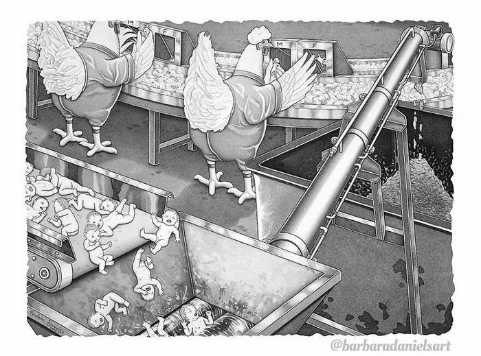 Esta artista critica a maneira como tratamos nosso mundo com suas ilustrações instigantes (40 fotos) 2