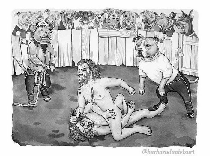 Esta artista critica a maneira como tratamos nosso mundo com suas ilustrações instigantes (40 fotos) 18