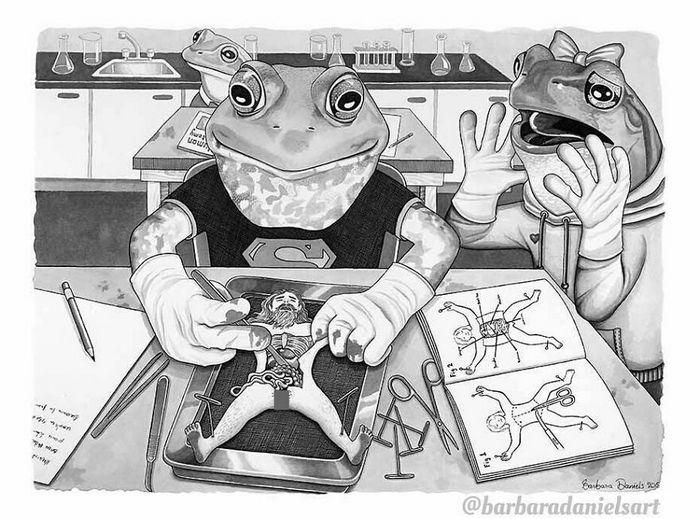 Esta artista critica a maneira como tratamos nosso mundo com suas ilustrações instigantes (40 fotos) 29