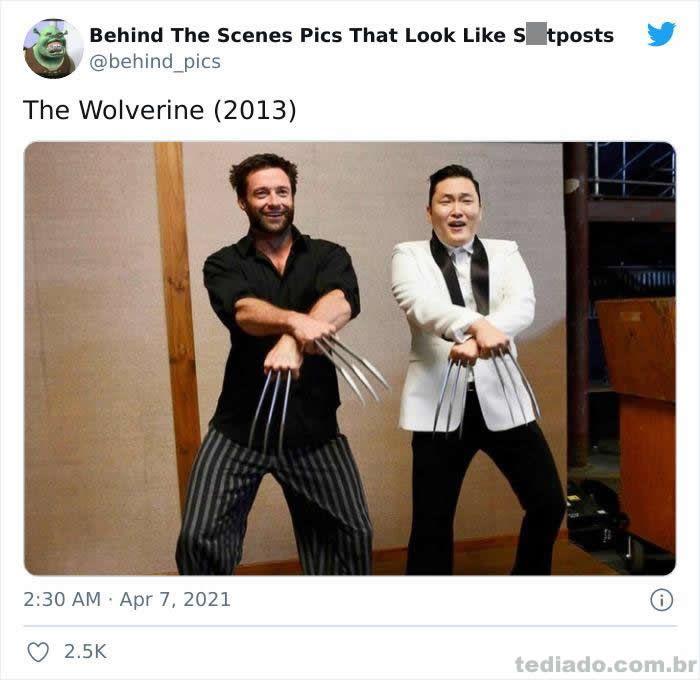 Esta página do Twitter reúne fotos dos bastidores que parecem memes ruins (30 fotos) 10