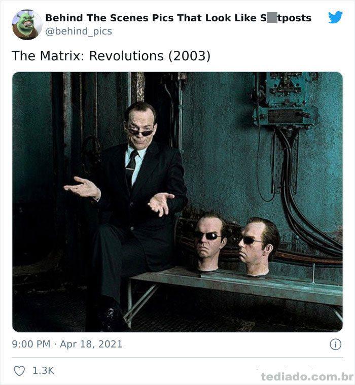 Esta página do Twitter reúne fotos dos bastidores que parecem memes ruins (30 fotos) 27