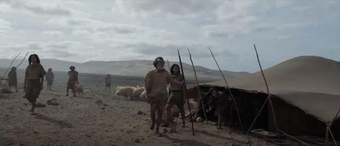 Estas imagens são do filme Os Eternos ou da novela Gênesis 3