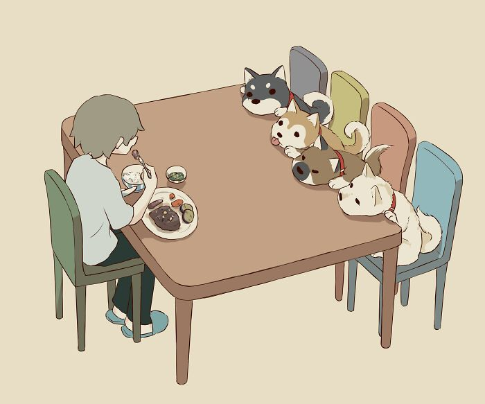 40 ilustrações poderosas de um artista japonês que o farão pensar 24