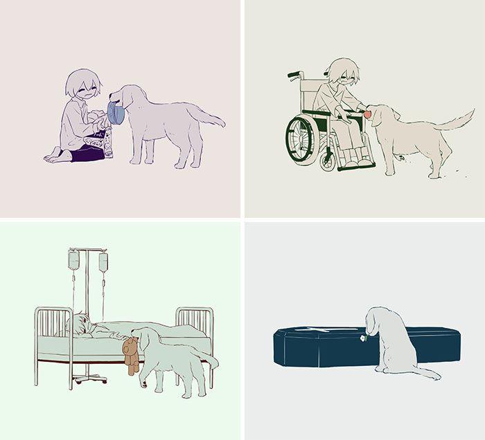 40 ilustrações poderosas de um artista japonês que o farão pensar 33