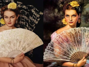 Mulher recria obras de arte com detalhes incríveis (42 fotos) 2