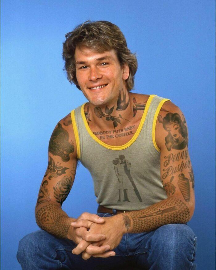 Qual seria a aparência de 48 celebridades se tivessem tatuagens legais 44