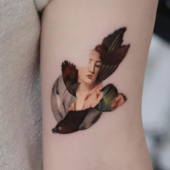 39 tatuagens detalhadas de personagens e pinturas populares de Hanak Adik 9