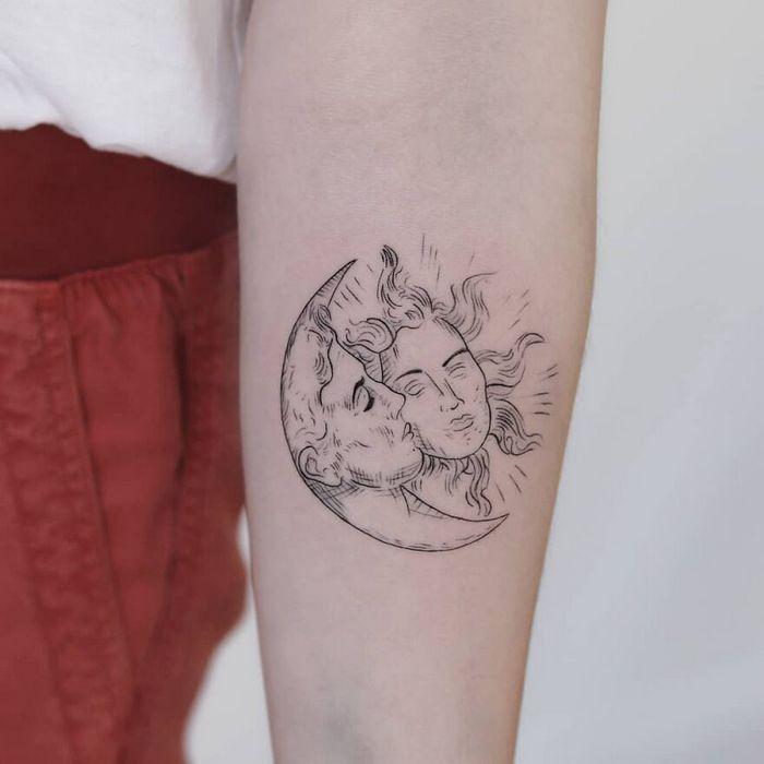 39 tatuagens detalhadas de personagens e pinturas populares de Hanak Adik 16