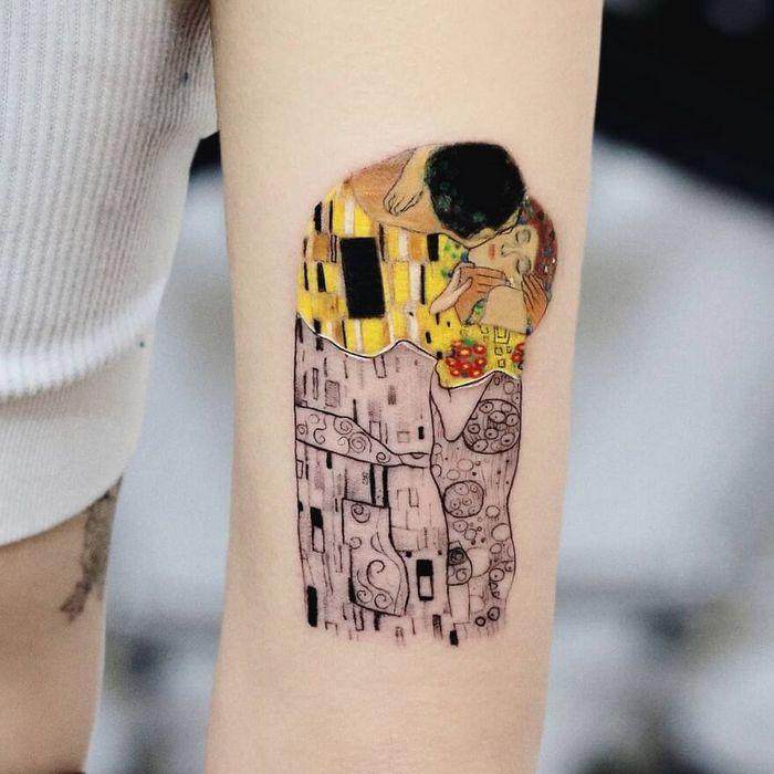 39 tatuagens detalhadas de personagens e pinturas populares de Hanak Adik 24