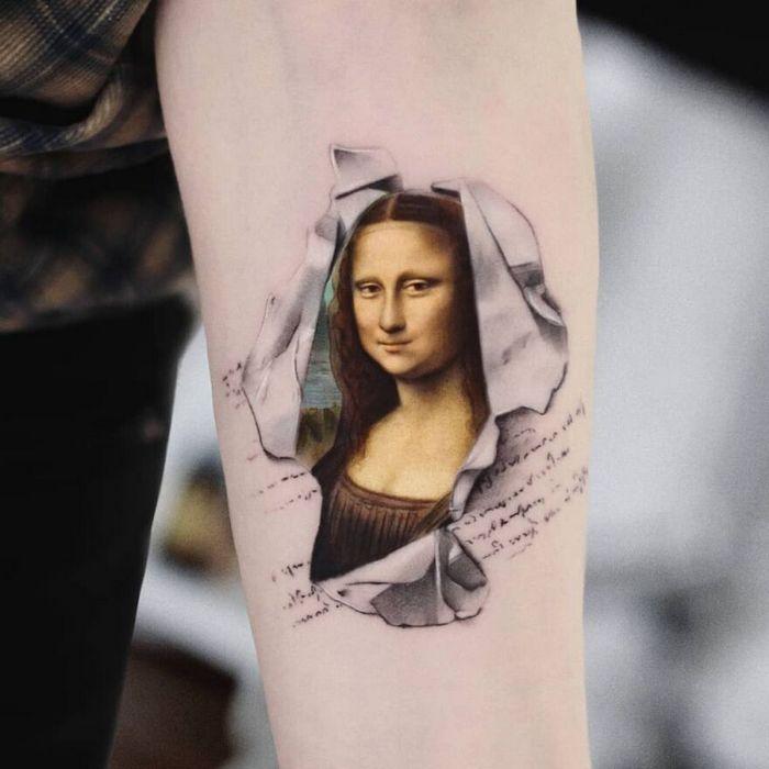 39 tatuagens detalhadas de personagens e pinturas populares de Hanak Adik 34
