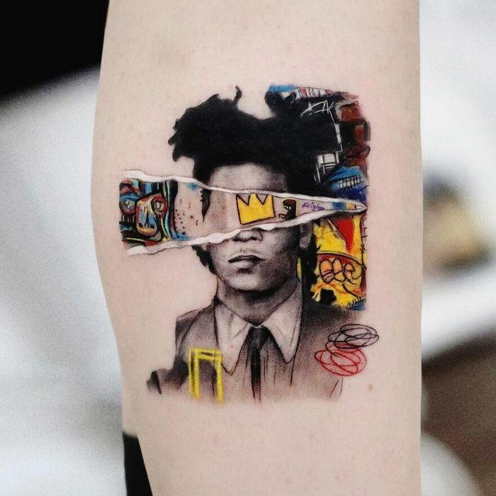 39 tatuagens detalhadas de personagens e pinturas populares de Hanak Adik 37