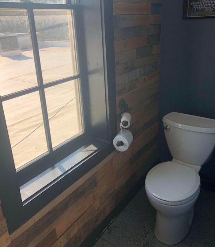 17 banheiros que dão a chance de admirar a paisagem 13