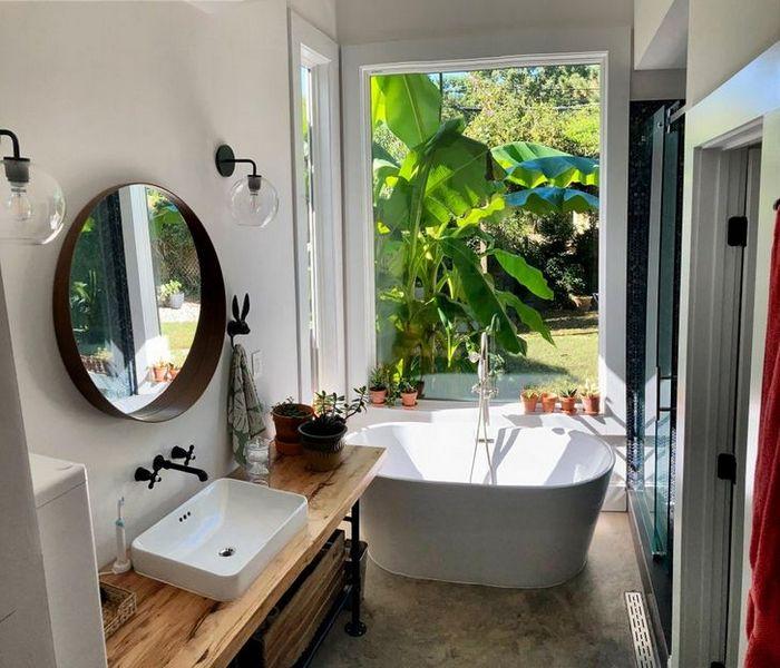 17 banheiros que dão a chance de admirar a paisagem 17
