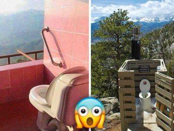 17 banheiros que dão a chance de admirar a paisagem 6