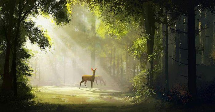 Este artista cria lindas ilustrações que podem alegrar o seu dia (29 fotos) 26