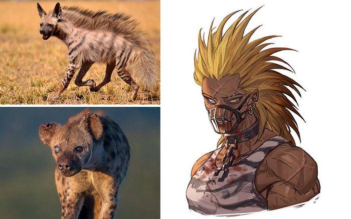 Este artista usa animais como inspiração para criar personagens originais de anime (23 fotos) 9