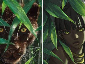 Este artista usa animais como inspiração para criar personagens originais de anime (23 fotos) 4