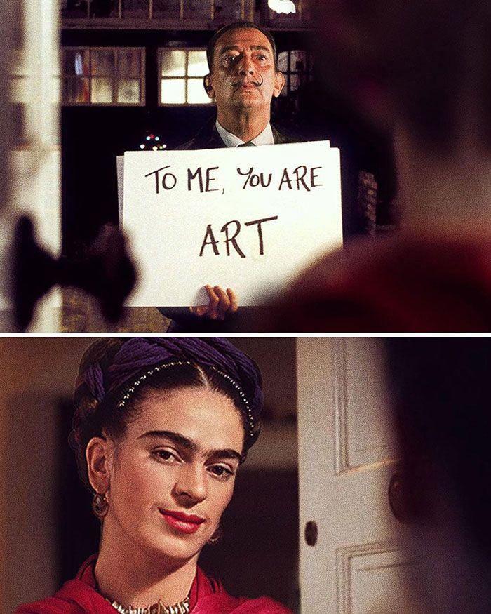O que acontece quando você combina pinturas famosas e cultura pop (42 fotos) 4