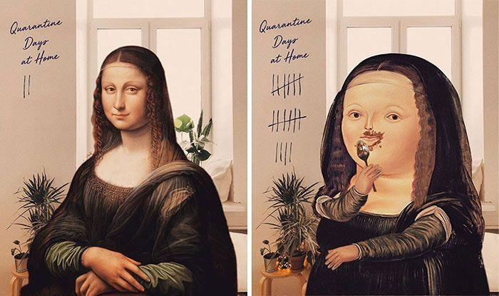 O que acontece quando você combina pinturas famosas e cultura pop (42 fotos) 5