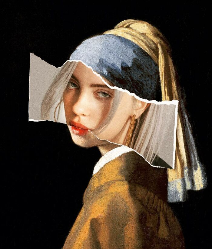 O que acontece quando você combina pinturas famosas e cultura pop (42 fotos) 18