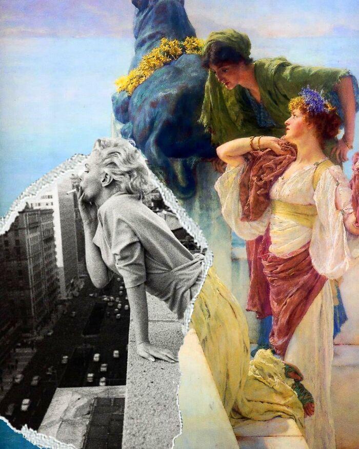 O que acontece quando você combina pinturas famosas e cultura pop (42 fotos) 19