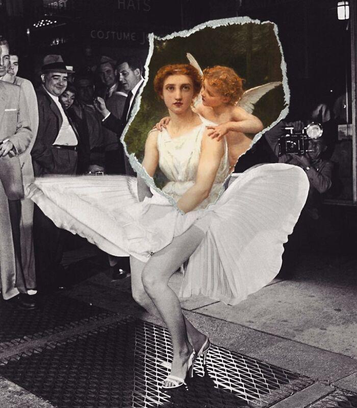 O que acontece quando você combina pinturas famosas e cultura pop (42 fotos) 24