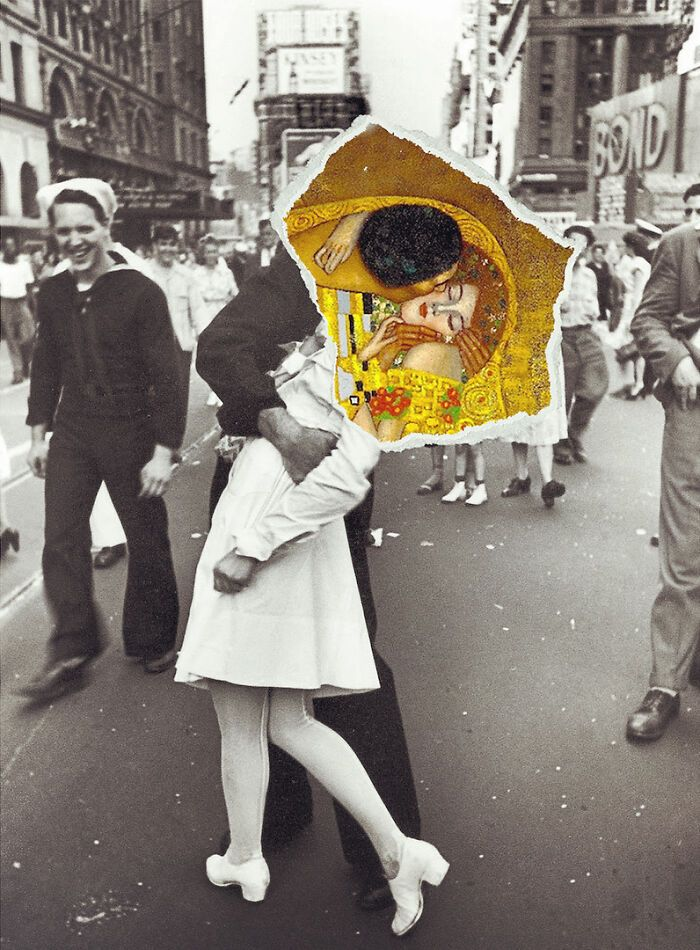 O que acontece quando você combina pinturas famosas e cultura pop (42 fotos) 40