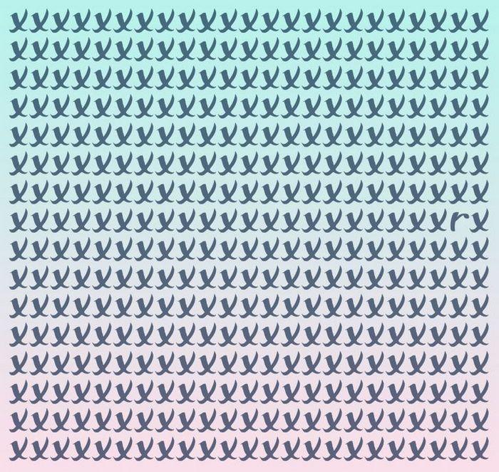 Teste: Encontre a letra diferente em menos de 5 segundos 16