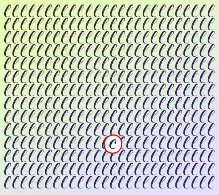 Teste: Encontre a letra diferente em menos de 5 segundos 29