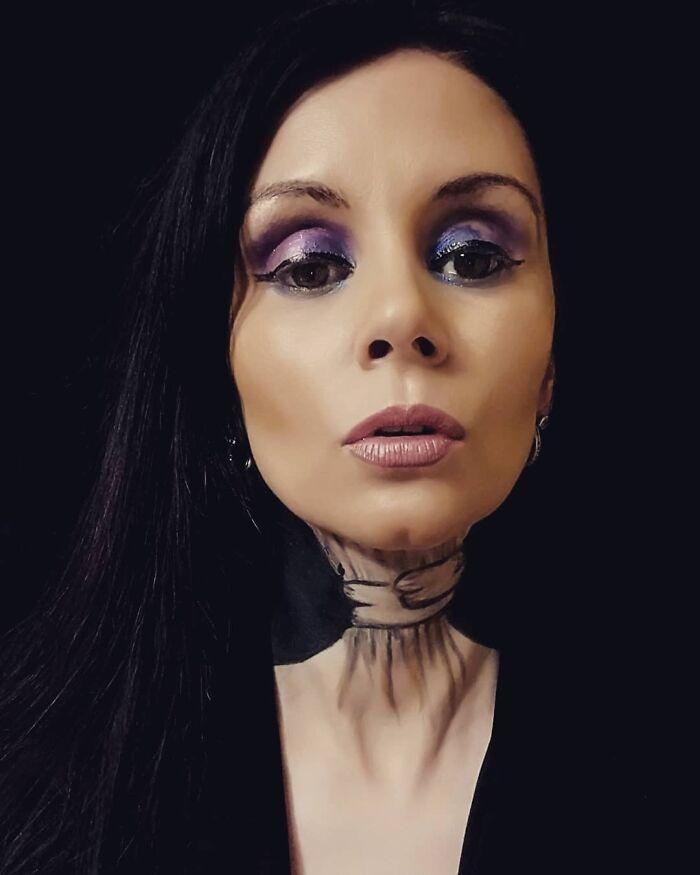 44 transformações com maquiagem: Ilusões de ótica 5