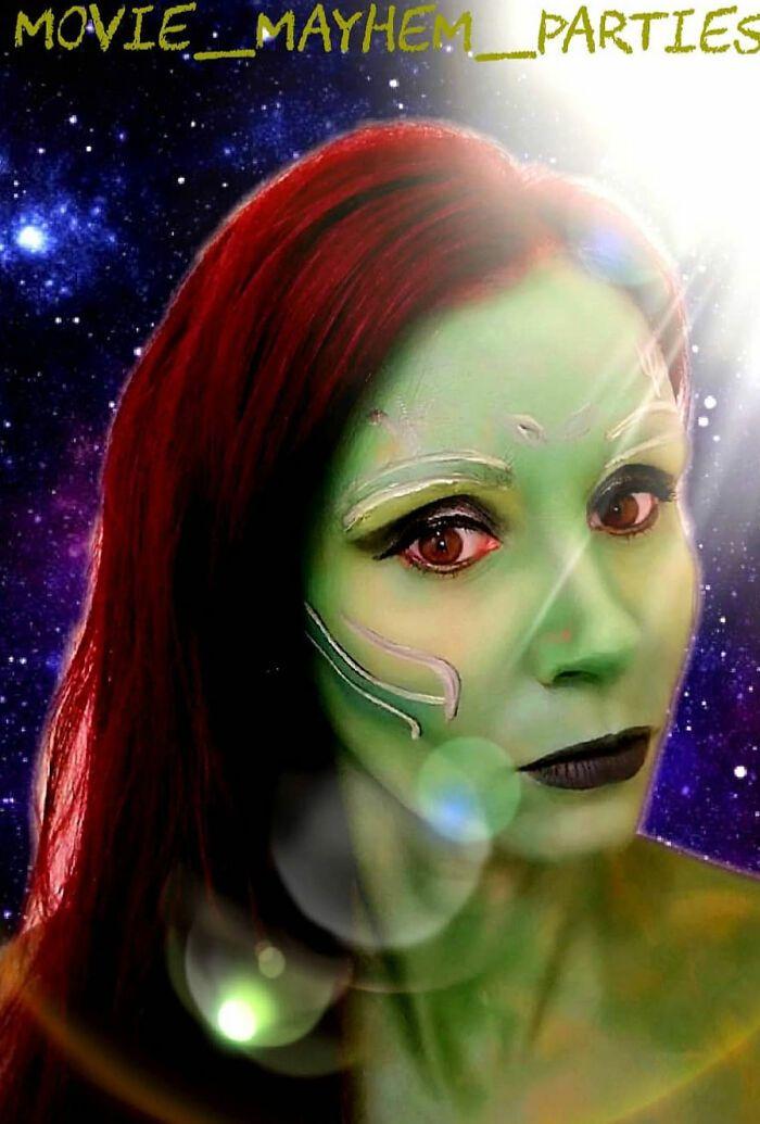 44 transformações com maquiagem: Ilusões de ótica 12
