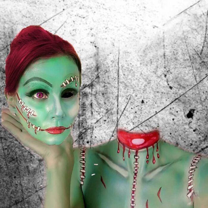 44 transformações com maquiagem: Ilusões de ótica 28