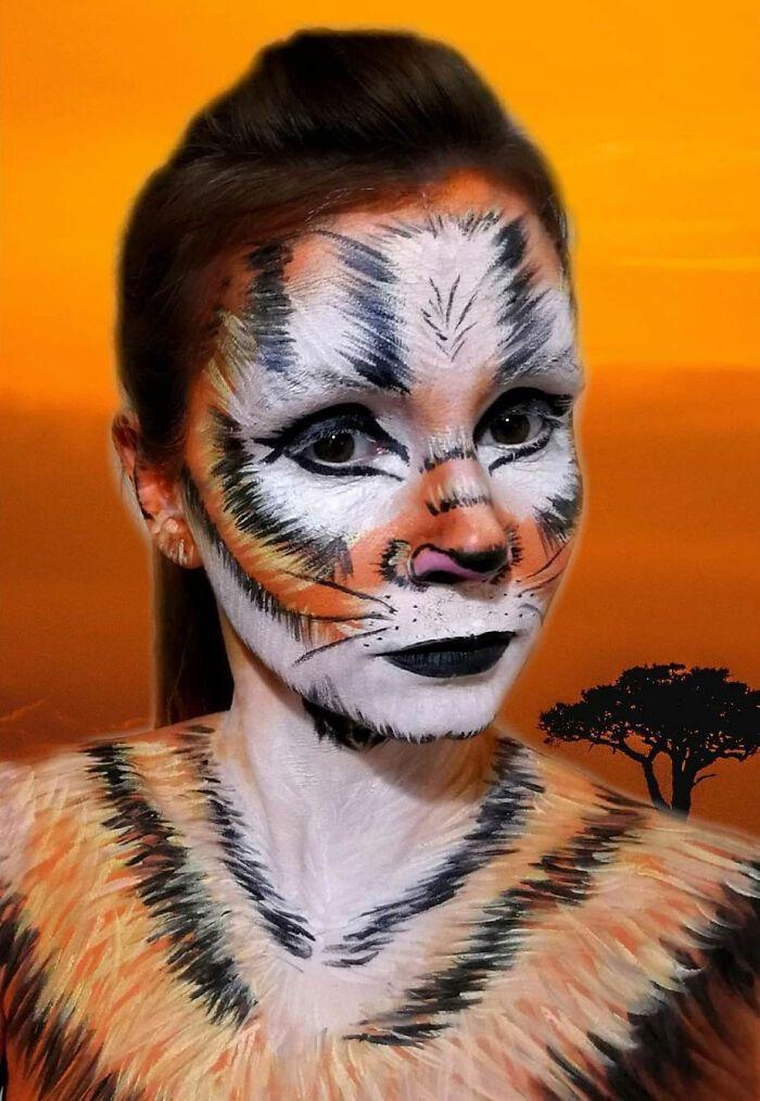 44 transformações com maquiagem: Ilusões de ótica 42