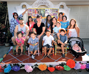 The Marquez family float will be near the head of today's Children's Parade.STEVE MALONE/NEWS-PRESS