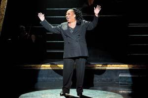 "Roz Ryan stars as Matron ""Mama"" Morton in the Tony Award-winning hit musical ""Chicago."""