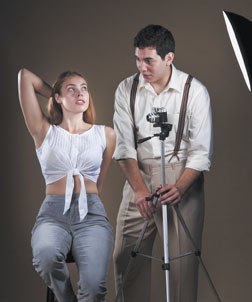 Li'l Bit (Alexia Dox) and Uncle Peck (Eduardo Fernandez-Baumann) have a tabboo secret in the UCSB Theater season opener ñHow I Learned to Drive.Ó David Bazemore Photo
