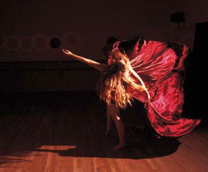 """Ladies in Waiting,"" Watson Dance Kathleen Helm photo"