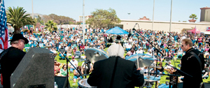 """Festival attendees enjoy the music at last year's """"Roadshow Revival: A Tribute to the Music of Johnny Cash."""""""