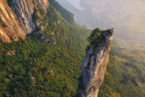 """In """"The Karsts of China"""" climbers explore other-worldly formations and unclimbed routes. UCSB Arts & Lectures"""