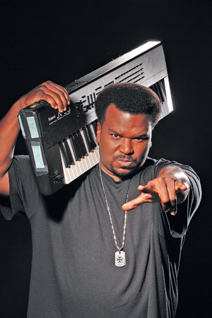"""Craig Robinson, best know as Darryl Philbin from the television show """"The Office,"""" will bring his standup act to the Chumash Casino Resort on Thursday. Courtesy photo"""