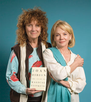 Director Jenny Sullivan, left, and Linda Purl David Bazemore photo