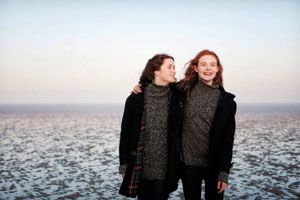 Alice Englert and Elle Fanning Nicola Dove photos